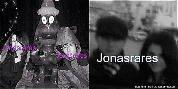 Photos | Deux nouvelles photos rares de Nick et Selena Gomez sont apparue.