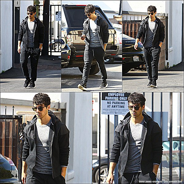 Le 03 Février 2015 | Joe prit en photo dans West Hollywood.