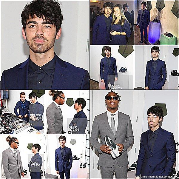 Le 10 Février 2015 | Joe est allé au Z Zegna Launch à New York.