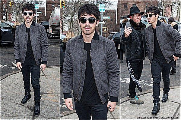 Le 12 Février 2015 | Joe est allé au défilé de Todd Snyder à New York.