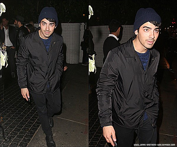 Le 20 Février 2015 | Joe à la soirée Galore Mag Young Hollywood Academy Awards Party, Chateau Marmont.