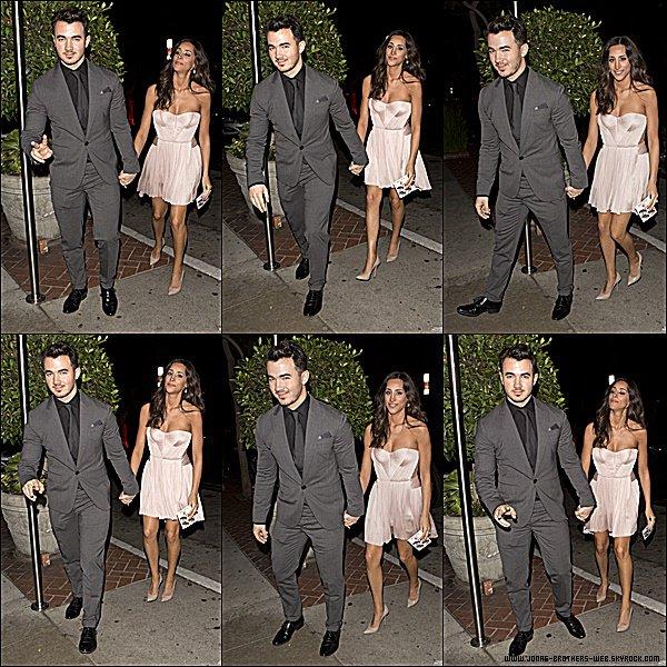Le 20 Février 2015 | Kevin et Danielle Kevin et Danielle arrivant au Sunset Marquis Hotel dans West Hollywood.