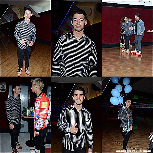 Le 25 Mars 2015 | Joe et son ami, pris en photos dans Los Angeles.