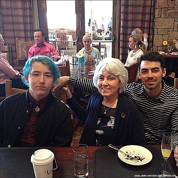 Snapchat | Joe a posté cette photo sur son compte.