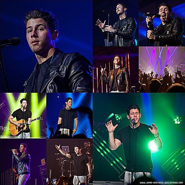 Le 20 Avril 2015 | Nick a donné un petit concert au Luther College à Decorah.