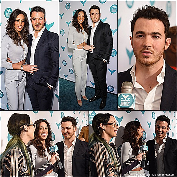 Le 20 Avril 2015 | Kevin et sa femme Danielle ce sont rendu au 7th Annual Shorty Awards à New York.