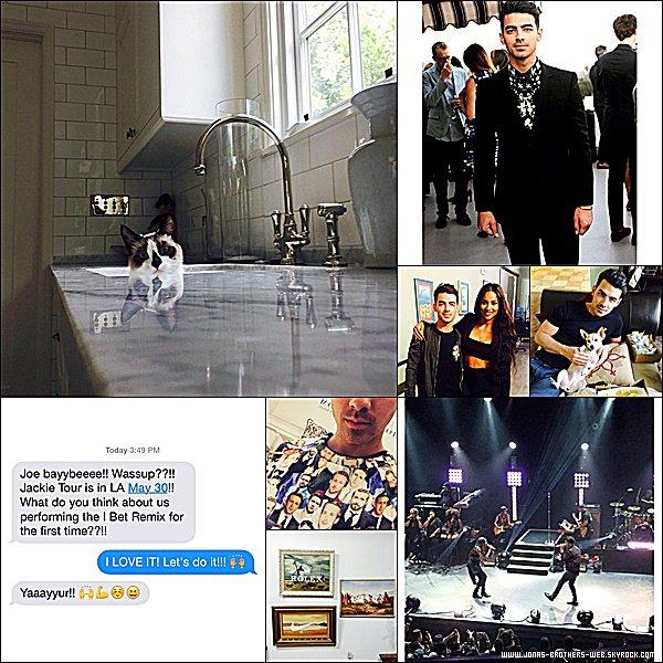 """Nick et Demi Lovato sont désormais associés ! Leur bébé porte le nom de """"Safehouse Records""""."""