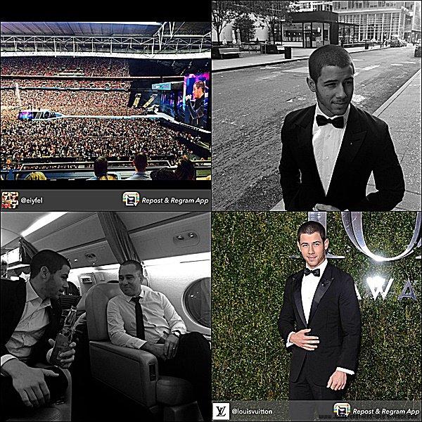 Instagram | Papa Jonas a posté ces photos sur son compte.