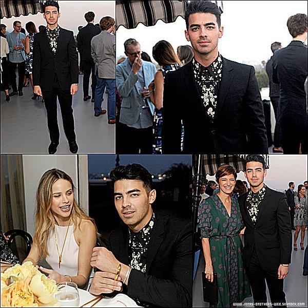 Le 27 Mai 2015 | Joe s'est rendu au The Penthouse Inspired by Vivienne Westwood à Los Angeles.