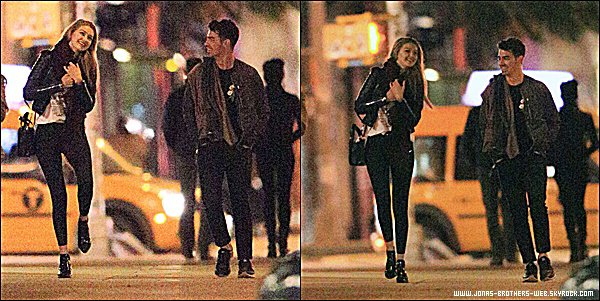 Le 04 Juin 2015 | Joe et Gigi Hadid dans les rues de New York en pleine nuit.