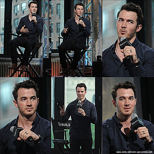 Le 17 Juin 2015 | Kevin est allé au AOL Build Speaker Series pour parler de son application à New York.
