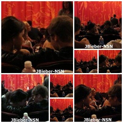 15.09.11 Justin et Selena à l'avant première de 'Abduction'