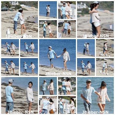 23.09.11 Justin et Selena à Malibu