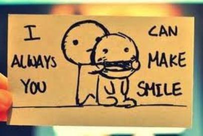 tjr met ton sourire hh :)