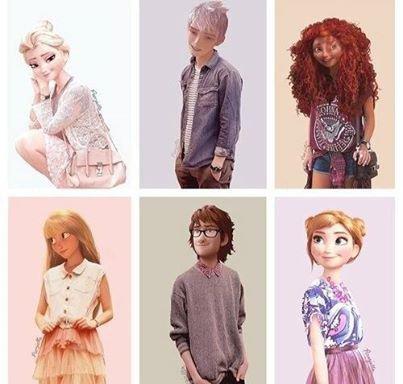 Il Son Tous Le Swagg Black Disney