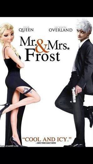 Mr.& Mrs Frost
