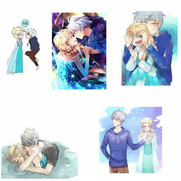 Petit  montage d'Elsa et Jack