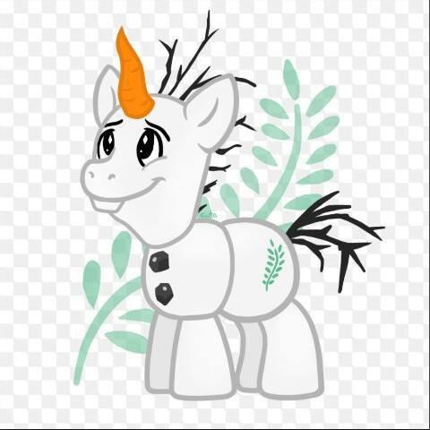 En mode little poney ♥