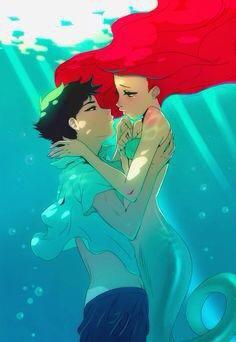 ♥ Ariel et Eric ♥
