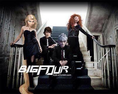 La nouvelle serie a decouvir Big Four