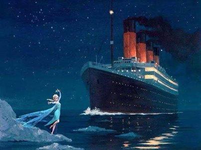 Elsa vs Titanic