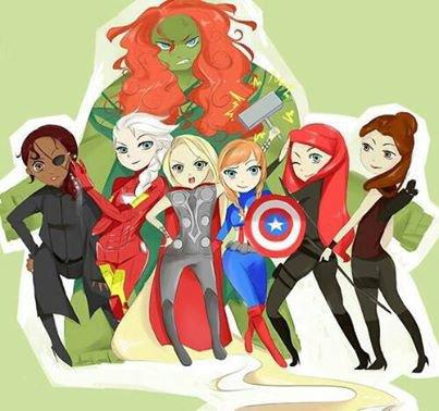 En mode Avengers