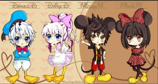 ♥♥♥♥ Mickey et ses amie ♥♥♥♥