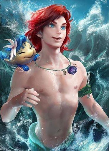 Ariel en mec