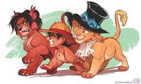Le Roi Lion version One Piece