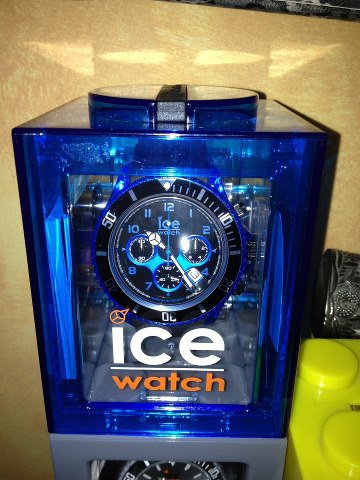 Ice chrono electrik blue