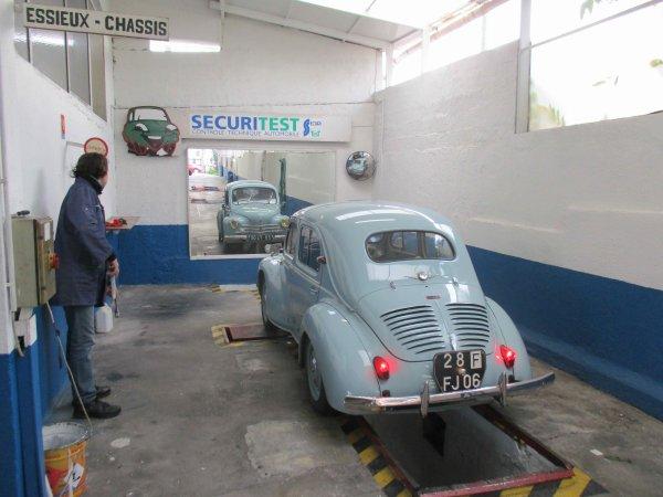 1° Sortie avec la Renault 4cv