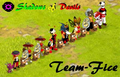 Voici ma team