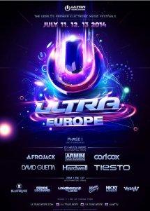 11 AU 13 JUILLET 2014 : ULTRA EUROPE - ULTRA MUSIC FESTIVAL CROATIE