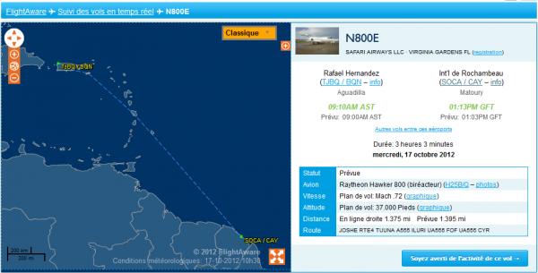 Arrivée prévue d'un Hawker 800 !!!