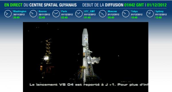 Report du lancement de Soyuz !!