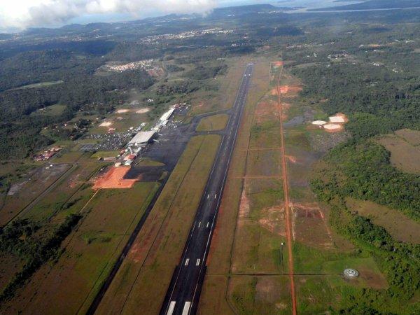 Les projets d'aménagements  de l'aéroport Félix  Eboué