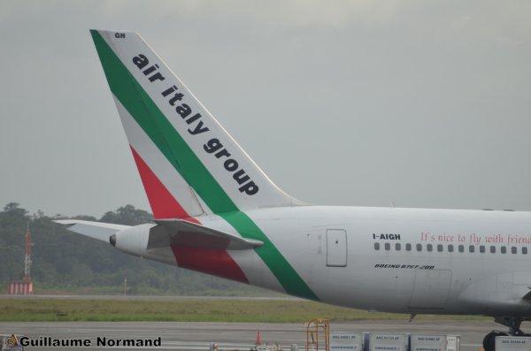 Arrivée d'un Boeing B767 !