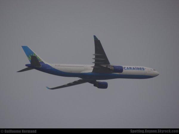 Arrivée d'un Airbus A330