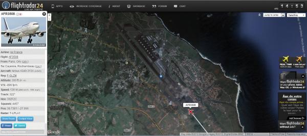 Déroutement du vol AFR3508