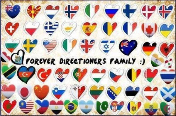 My family of me....vive la One direction family !!!!!