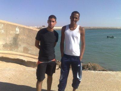 me and sofian
