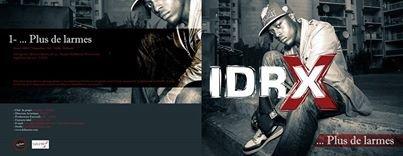 """IDRX PREMIER SINGLE """"PLUS DE LARMES"""