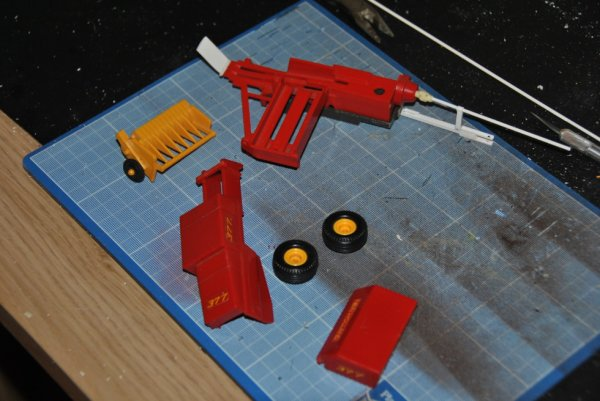 projet en Etude...... démontage,vérification des pièces et transformation de celle ci.