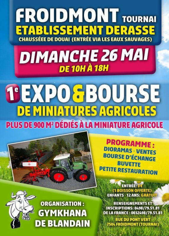 Expo ce week end à Froidmont