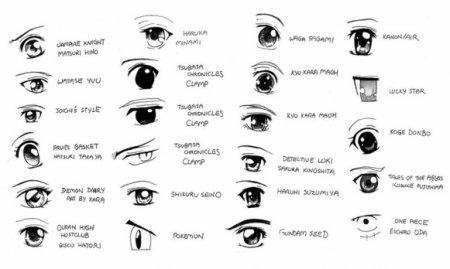 Fabulous comment dessiner des yeux - comment dessiner des mangas AR22