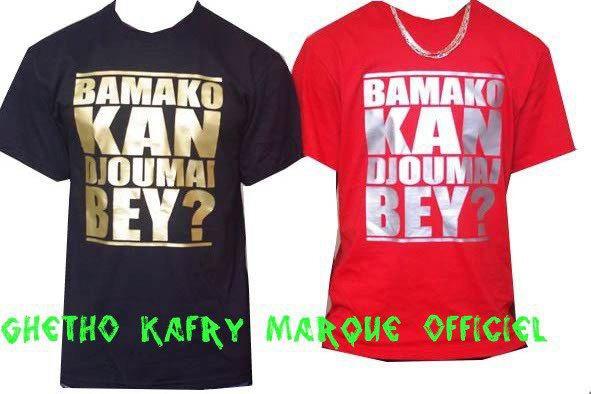 *Ghetto Kafry-T-Shirts Personnalisé