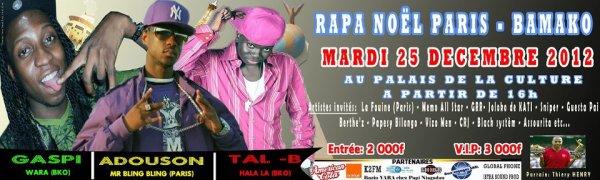 concert Rapa noel