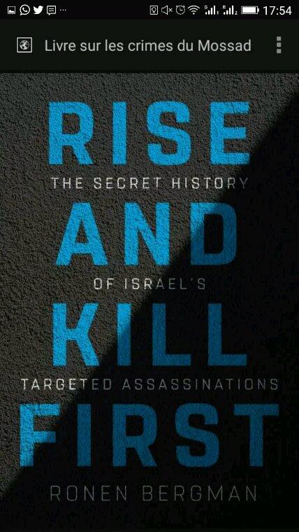 Le Mossad, héritier des Sicaires