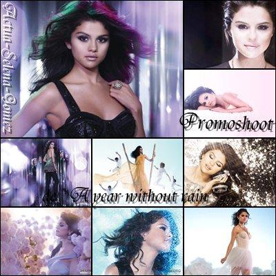 """Promoshoot pour l'album """" A year without rain"""""""