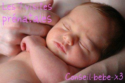 Les 7 visites prénatales